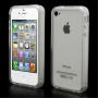 Ochranný průsvitný rámeček / bumper pro Apple iPhone 4 / 4S