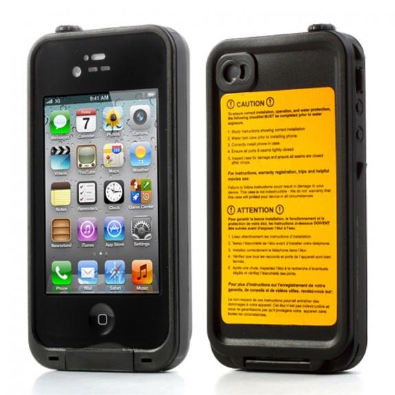 AppleKing voděodolné pouzdro / kryt pro Apple iPhone 4 / 4S - možnost vrátit zboží ZDARMA do 30ti dní