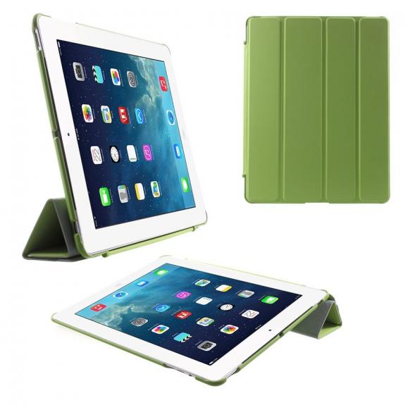 AppleKing pouzdro Smart Cover se stojánkem pro Apple iPad 2. / 3. / 4. gen. - zelené - možnost vrátit zboží ZDARMA do 30ti dní