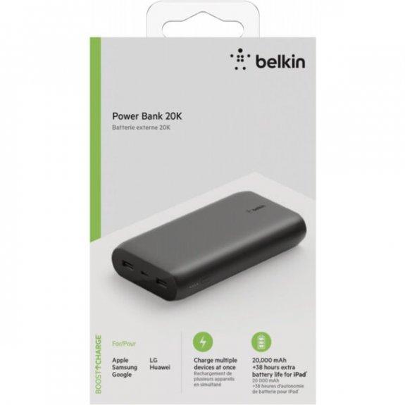 Belkin Boost Charge powerbanka 20000mAh s porty USB / USB-C - černá BPB003btBK - možnost vrátit zboží ZDARMA do 30ti dní