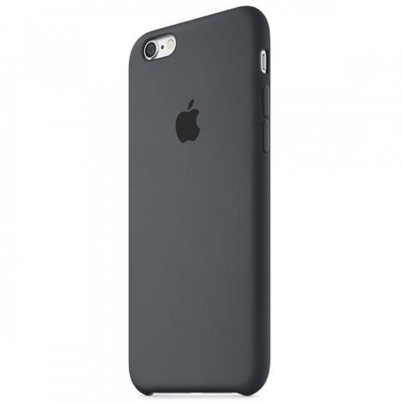 Originální silikonový kryt pro Apple iPhone 6S - uhlově šedý MKY02ZM/A - možnost vrátit zboží ZDARMA do 30ti dní