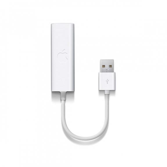 Originální USB ethernet adaptér pro Apple MacBook MC704ZM/A - možnost vrátit zboží ZDARMA do 30ti dní