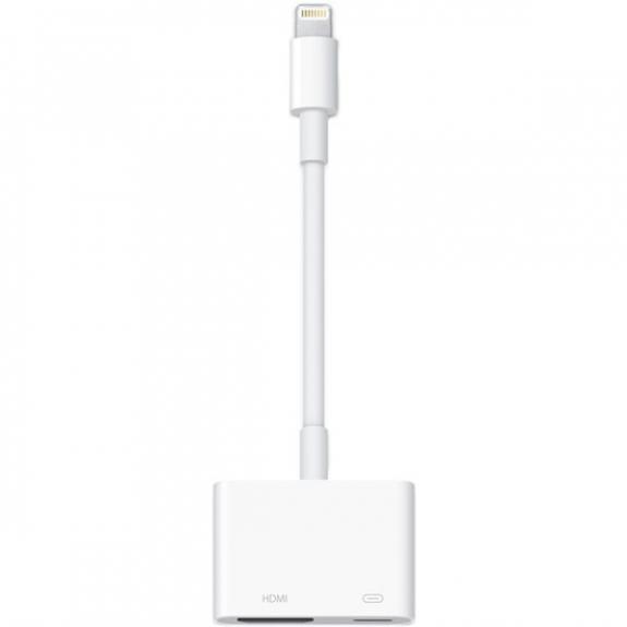 Originální redukce lightning konektoru na HDMI s lightning konektorem pro současné nabíjení pro Apple iPhone / iPad md826zm/a - možnost vrátit zboží ZDARMA do 30ti dní