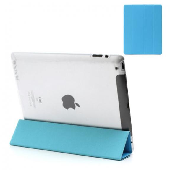 AppleKing pouzdro Smart Cover s funkcí uspání na Apple iPad 2. / 3. / 4. gen. - modré - možnost vrátit zboží ZDARMA do 30ti dní