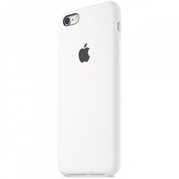 Originální silikonový kryt pro Apple iPhone 6S - bílý MKY12ZM/A - možnost vrátit zboží ZDARMA do 30ti dní