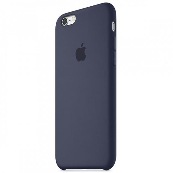 Originální silikonový kryt pro Apple iPhone 6S - tmavě modrý MKY22ZM/A - možnost vrátit zboží ZDARMA do 30ti dní