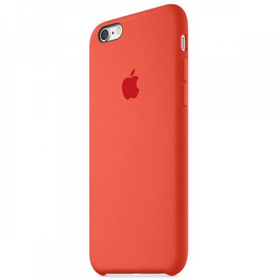Originální silikonový kryt pro Apple iPhone 6S - červený MKY32ZM/A - možnost vrátit zboží ZDARMA do 30ti dní