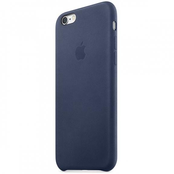 Originální kožený kryt pro Apple iPhone 6S Plus - půlnočně modrý MKXD2ZM A  - možnost 9e00974dc0e