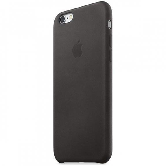 Originální kožený kryt pro Apple iPhone 6S Plus - černý MKXF2ZM/A - možnost vrátit zboží ZDARMA do 30ti dní