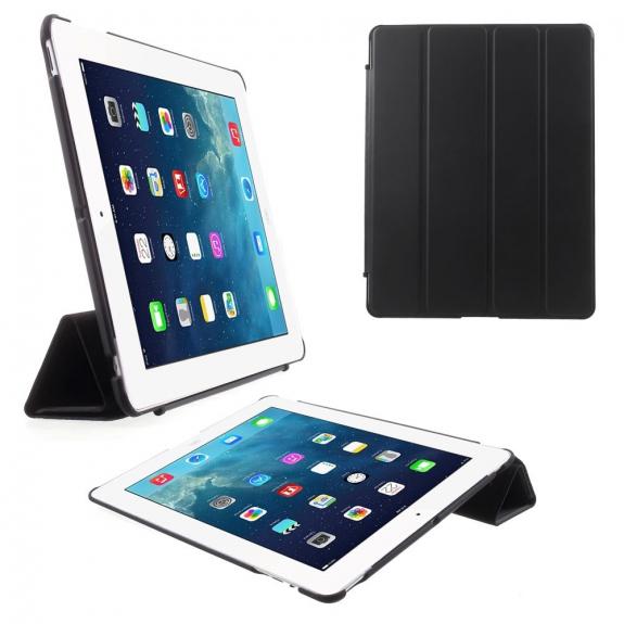 AppleKing ochranný Smart Cover kryt se stojánkem na Apple iPad 2. / 3. / 4. gen. - černé - možnost vrátit zboží ZDARMA do 30ti dní