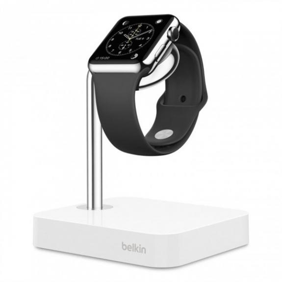 Belkin unikátní stojánek s integrovaným nabíjením pro Apple Watch F8J191btWHT - možnost vrátit zboží ZDARMA do 30ti dní