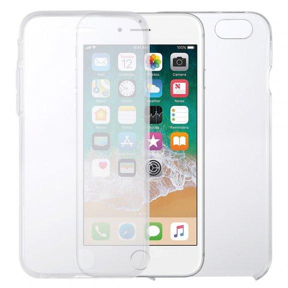AppleKing kryt na přední i zadní stranu iPhone 6 / 6S - transparentní - možnost vrátit zboží ZDARMA do 30ti dní