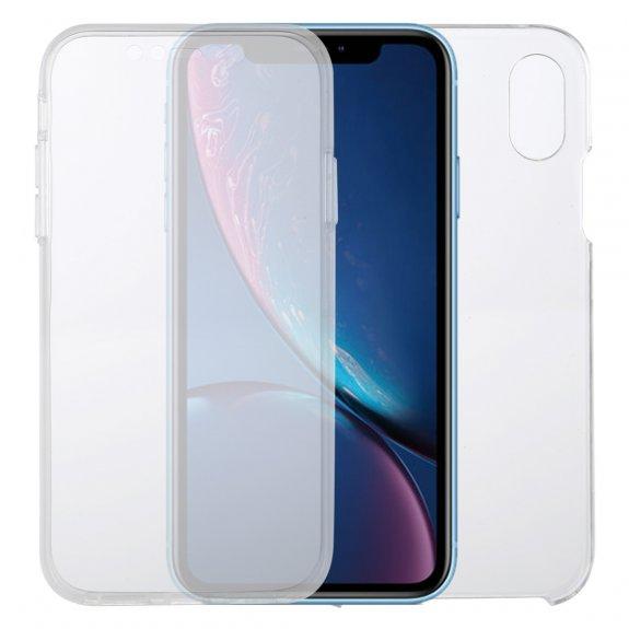 AppleKing kryt na přední i zadní stranu iPhone XR - transparentní - možnost vrátit zboží ZDARMA do 30ti dní