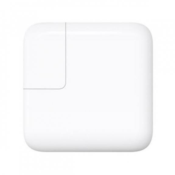 """Originální napájecí adaptér pro Apple Macbook a iPhone / 8 / 8 Plus 12"""" - 29W s konektorem USB-C - bílý MJ262Z/A - možnost vrátit zboží ZDARMA do 30ti dní"""