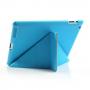 Ochranný Smart Cover kryt se stojánkem na Apple iPad 2. / 3. / 4. gen. - modrý