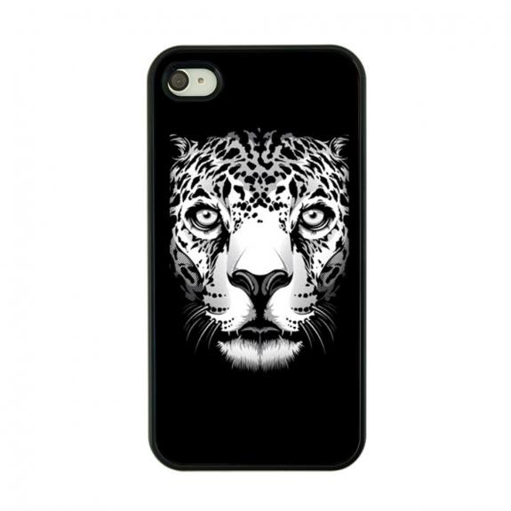 AppleKing plastový obal pro Apple iPhone 4 / 4S - Leopard - možnost vrátit zboží ZDARMA do 30ti dní