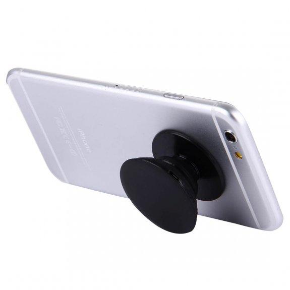 AppleKing vysouvací držák / stojánek k připevnění na zadní stranu iPhone - černý - možnost vrátit zboží ZDARMA do 30ti dní