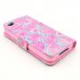 Pouzdro se stojánkem pro Apple iPhone 4 / 4S - Růže