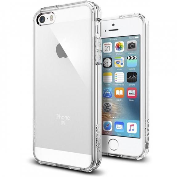 Spigen ultra-tenký odolný kryt Apple iPhone SE / 5S / 5 - čirý 041CS20171 - možnost vrátit zboží ZDARMA do 30ti dní