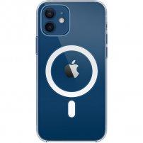 Originální Apple průhledný kryt s MagSafe pro iPhone 12 / 12 Pro - transparentní