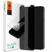 Spigen Glas tR Privacy HD 2D tvrzené sklo pro iPhone 12 mini - čiré