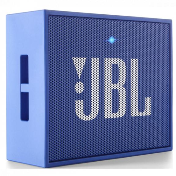 JBL GO bezdrátový Bluetooth reproduktor - modrý JBL GO BLUE - možnost vrátit zboží ZDARMA do 30ti dní