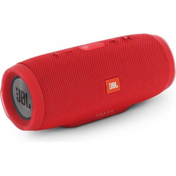 JBL CHARGE 3 bezdrátový Bluetooth reproduktor - červený JBL CHARGE3RE - možnost vrátit zboží ZDARMA do 30ti dní
