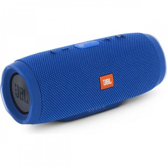 JBL CHARGE 3 bezdrátový Bluetooth reproduktor - modrý JBL CHARGE3BL - možnost vrátit zboží ZDARMA do 30ti dní