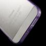 Ultratenký 0.5 mm obal pro Apple iPhone 5 / 5S / SE - fialové