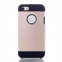 Obal 2v1 pro Apple iPhone 5 / 5S / SE - Champagne