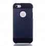 Pouzdro 2v1 pro Apple iPhone 5 / 5S / SE - tmavě modré