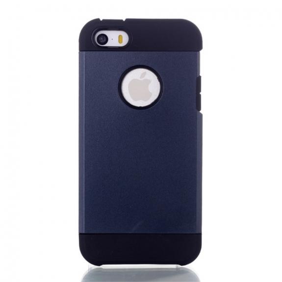 AppleKing pouzdro 2v1 pro Apple iPhone 5 / 5S / SE - tmavě modré - možnost vrátit zboží ZDARMA do 30ti dní
