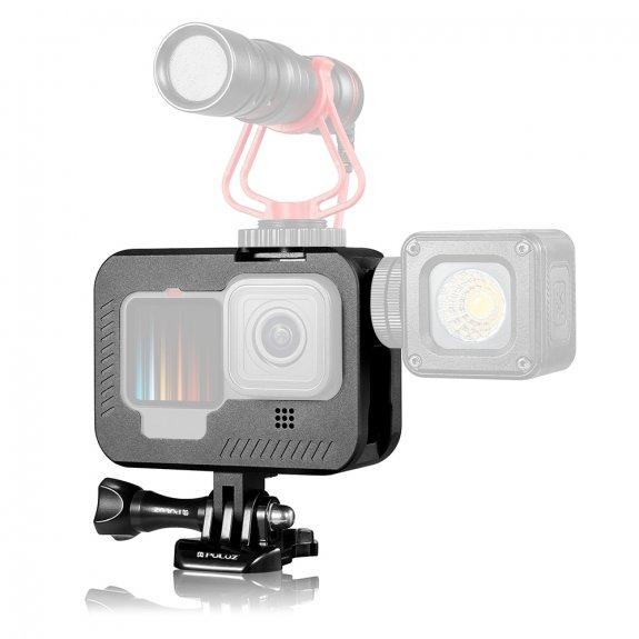 Puluz kovový držák na kameru GoPro HERO9 - černý - možnost vrátit zboží ZDARMA do 30ti dní