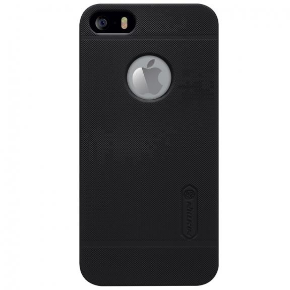 NILLKIN zadní kryt s ochranou displeje pro Apple iPhone 5 / 5S / SE - černý - možnost vrátit zboží ZDARMA do 30ti dní