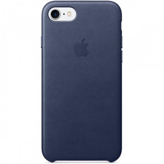 Originální kožený kryt pro Apple iPhone 7 - půlnočně modrý MMY32ZM/A - možnost vrátit zboží ZDARMA do 30ti dní