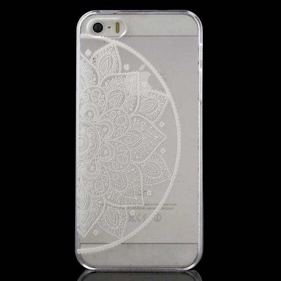 AppleKing kryt na Apple iPhone 5 / 5S / SE - Květinový vzor - možnost vrátit zboží ZDARMA do 30ti dní