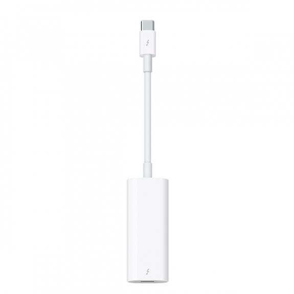 """Originální adaptér z Thunderbolt 3 (USB-C) na Thunderbolt 2 pro Apple Macbook Pro 15"""" /MacBook 13"""" - bílý MMEL2ZM/A - možnost vrátit zboží ZDARMA do 30ti dní"""