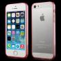 Ultratenký 0.5 mm obal pro Apple iPhone 5 / 5S / SE - červený