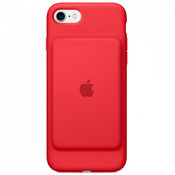 Originální Smart Battery Case kryt s baterií pro Apple iPhone SE (2020) / 8 / 7 - červený MN022ZM/A - možnost vrátit zboží ZDARMA do 30ti dní