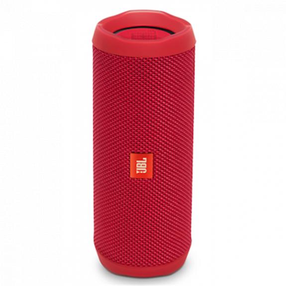 JBL Flip 4 kompaktní vodotěsný reproduktor - červený JBL FLIP4 RED - možnost vrátit zboží ZDARMA do 30ti dní