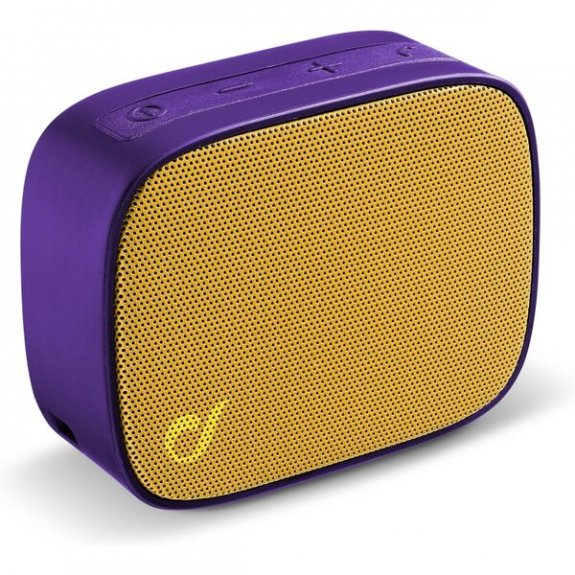 Cellularline Fizzy kapesní bezdrátový reproduktor - žluto-fialový BTSPKFIZZY4 - možnost vrátit zboží ZDARMA do 30ti dní