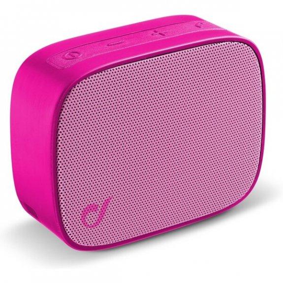 Cellularline Fizzy kapesní bezdrátový reproduktor - růžový BTSPKFIZZYP - možnost vrátit zboží ZDARMA do 30ti dní