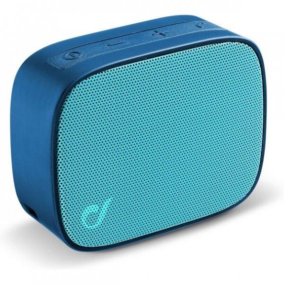 Cellularline Fizzy kapesní bezdrátový reproduktor - modrý BTSPKFIZZYB - možnost vrátit zboží ZDARMA do 30ti dní