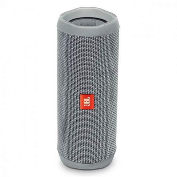 JBL Flip 4 kompaktní vodotěsný reproduktor - šedý JBL FLIP4 GRY - možnost vrátit zboží ZDARMA do 30ti dní