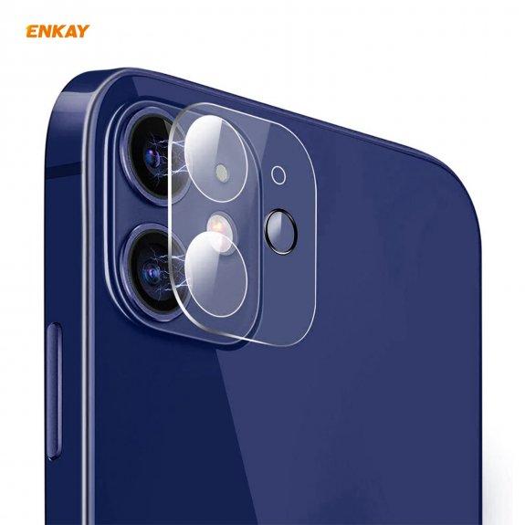 Enkay tvrzené sklo k ochraně čoček fotoaparátu pro iPhone 12 - možnost vrátit zboží ZDARMA do 30ti d