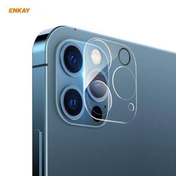 Enkay tvrzené sklo k ochraně čoček fotoaparátu pro iPhone 12 Pro - možnost vrátit zboží ZDARMA do 30