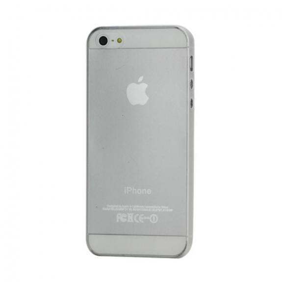 Super tenký 0.3 mm kryt na Apple iPhone 5 / 5S / SE průhledný