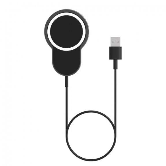 AppleKing magnetický držák na ventilační mřížku auta s 15W bezdrátovým nabíjením pro iPhone - černý - možnost vrátit zboží ZDARMA do 30ti dní