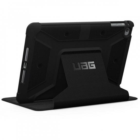 UAG Folio extrémně odolné pouzdro se stojánkem pro iPad mini 4 / 5 - černé UAG-IPDM4-BLK - možnost vrátit zboží ZDARMA do 30ti dní