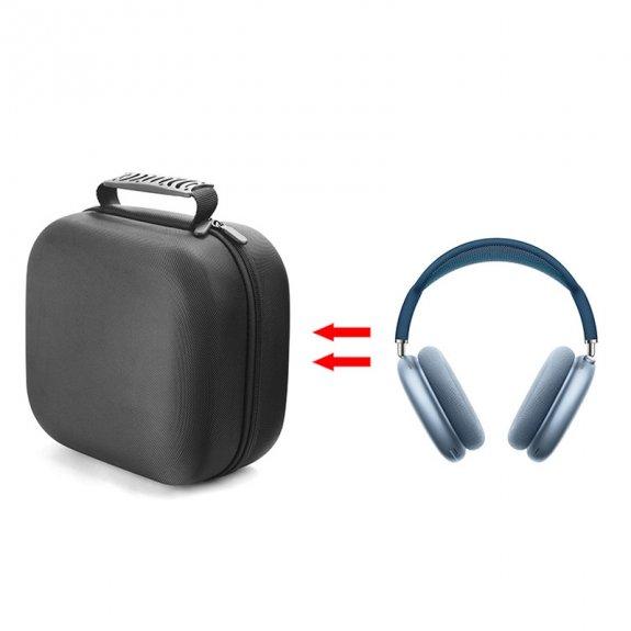 AppleKing brašna chránící proti nárazu a prachu pro AirPods Max - černá - možnost vrátit zboží ZDARM